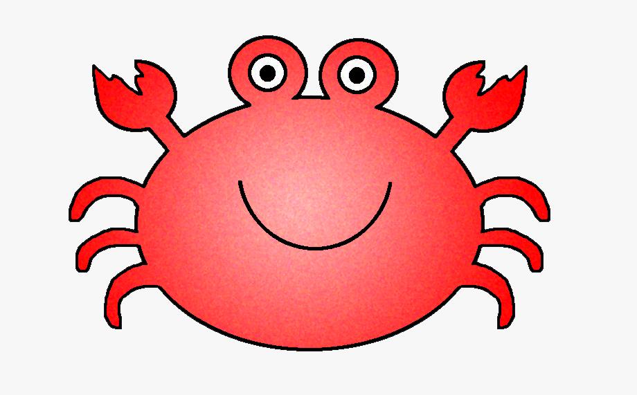 Crabs ocean sea fish. Crab clipart cute underwate animal