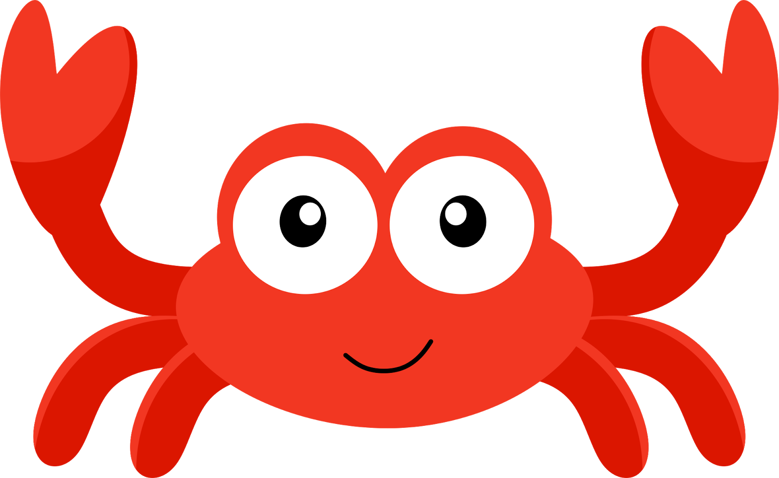collection of baby. Crab clipart evil
