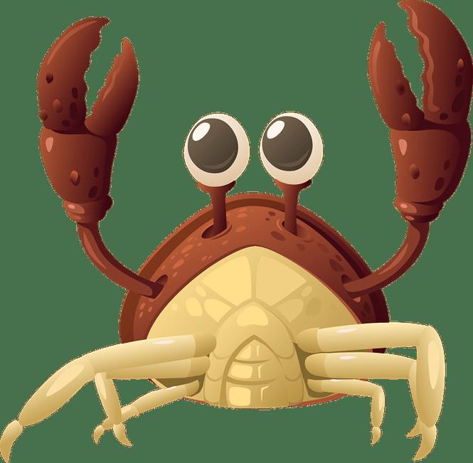 Blue clip art best. Crabs clipart ghost crab