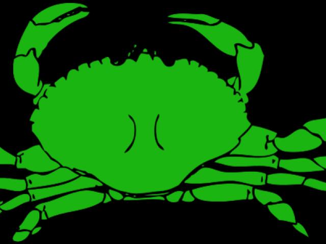 Hd clip art transparent. Crab clipart green