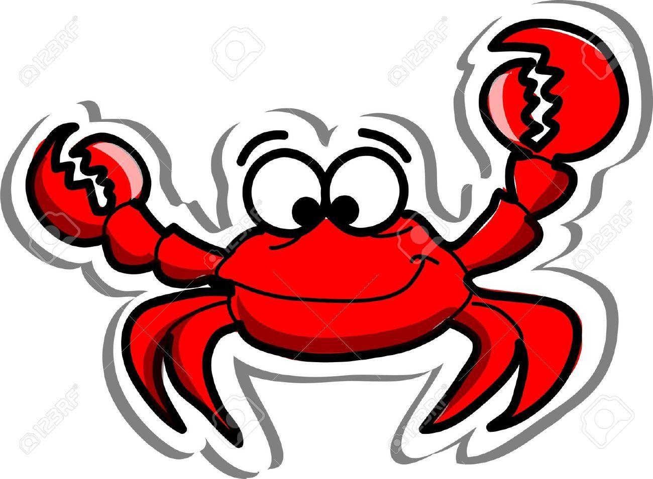 crab clipart illustration