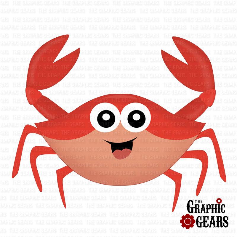 Crabs clipart sand crab. Clip art cartoon panda