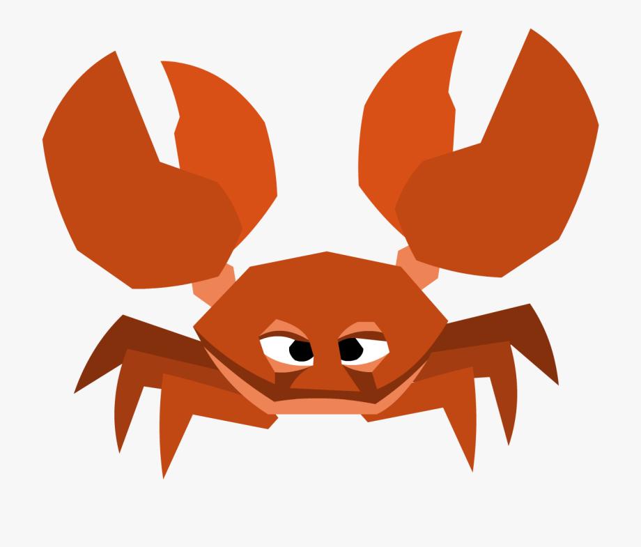 Image crystal sands transparent. Crab clipart land water animal