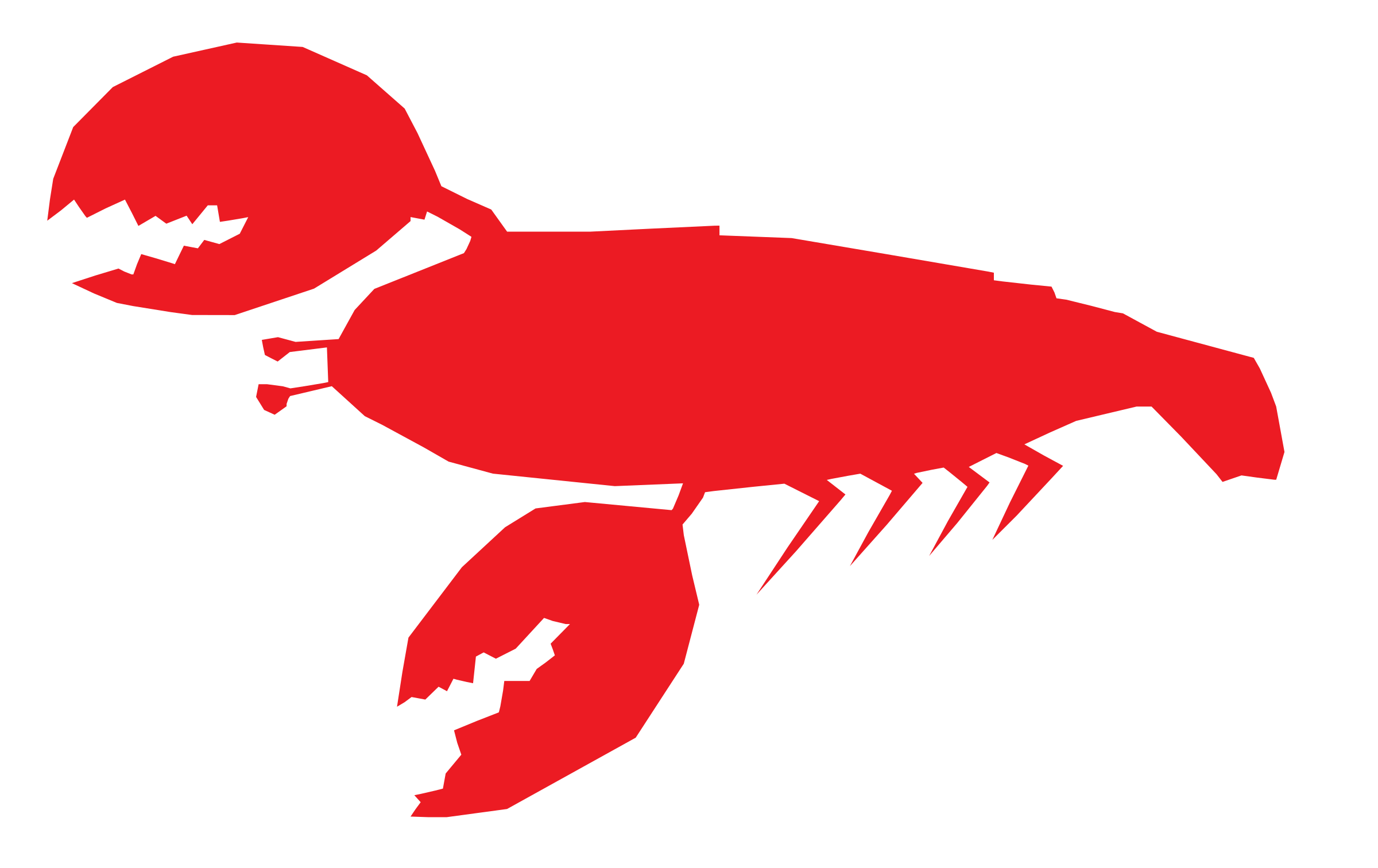 lobster clipart cartoon