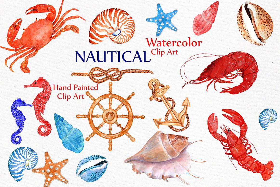 crab clipart nautical