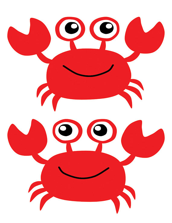 Picture free download best. Crab clipart nautical