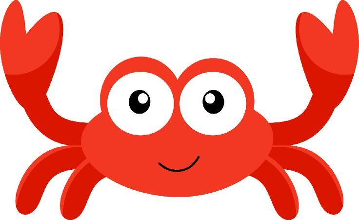 Pin by angelica baker. Crabs clipart under sea