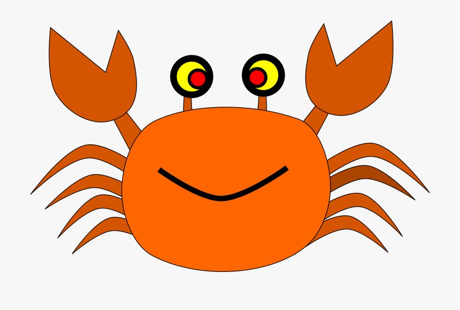 Crab clipart orange crab. Great spider for free