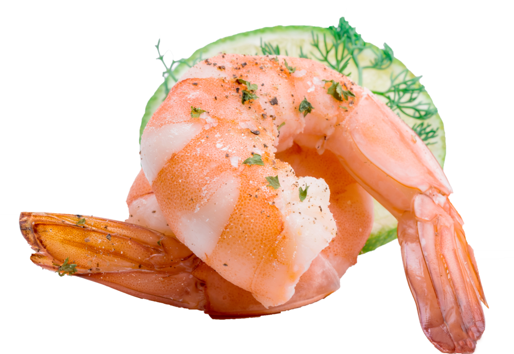 Cooked amazing fish with. Tuna clipart shrimp
