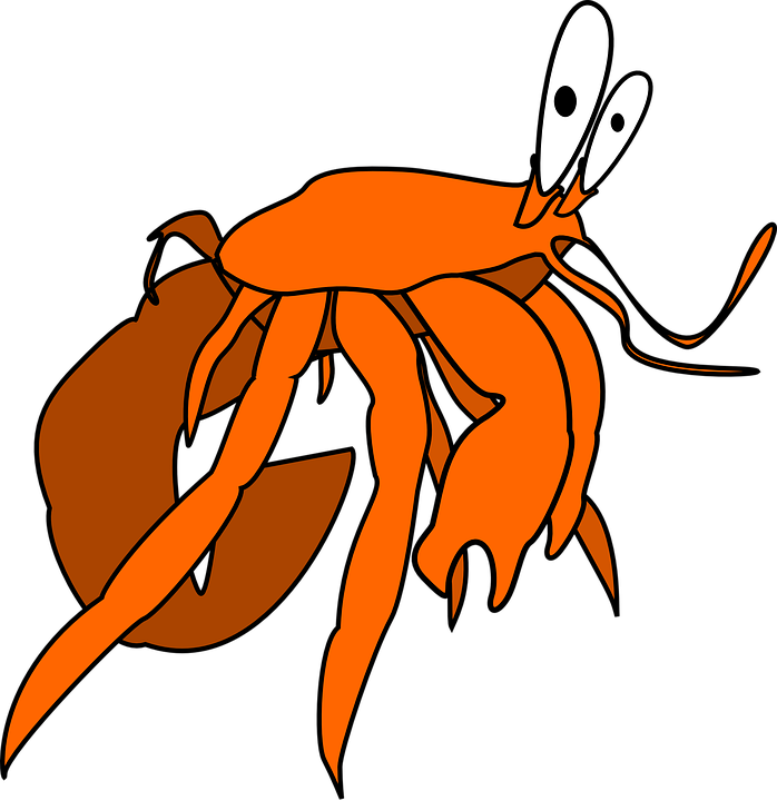 Crab clipart red crab. Free shop of library