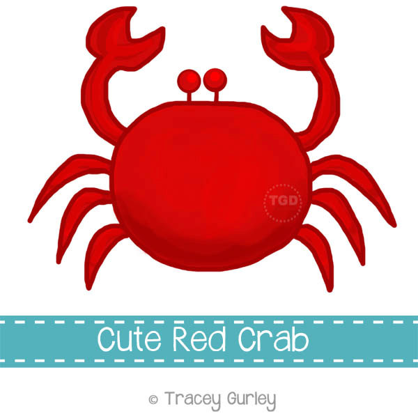 clipartlook. Crabs clipart red crab