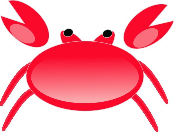 Crab clipart red crab. Clip art at clker