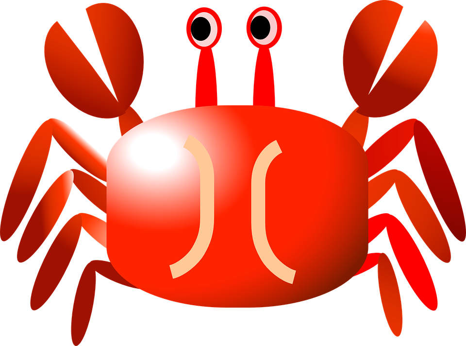Crab clipart red thing. Collection of cliparts buy