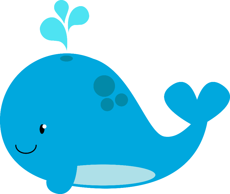 crab clipart red whale