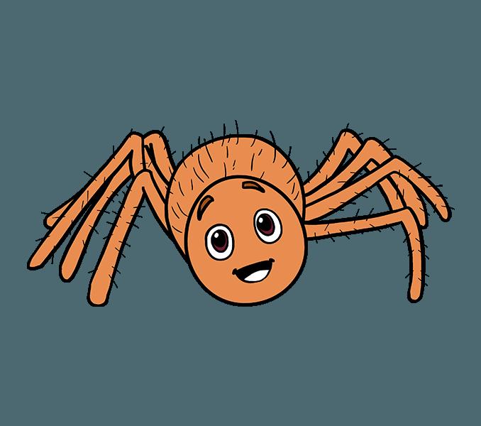 Crab clipart sad crab. Cartoon spider pictures free