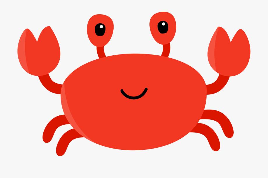 Jellyfish kepiting gambar kartun. Crab clipart sand crab