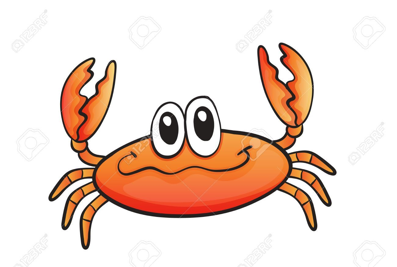 Crabs clipart orange crab. Free download for your