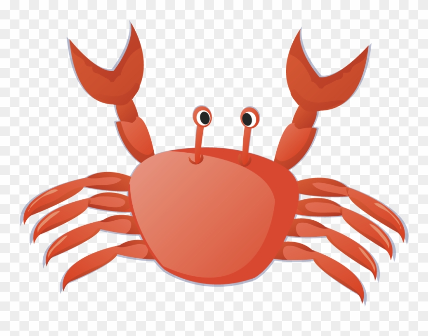 Royalty free library transparent. Crab clipart small crab