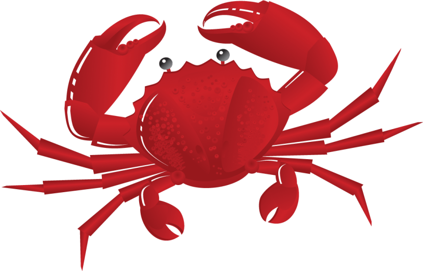 crab clipart std