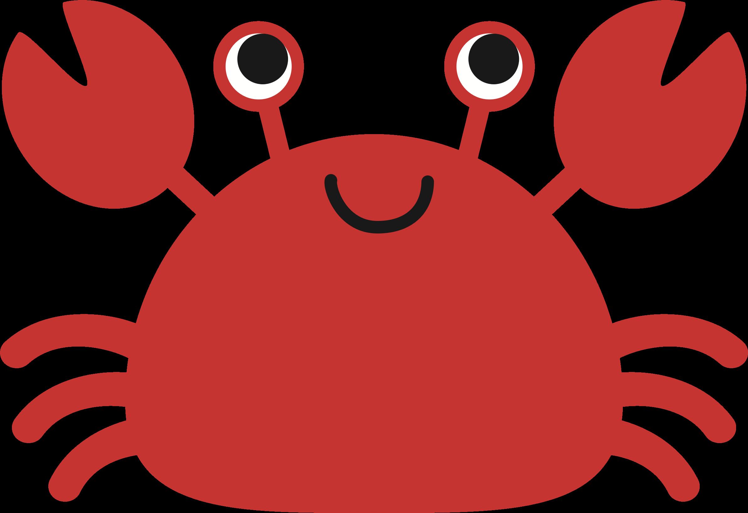 Crab png mart. Crabs clipart cute