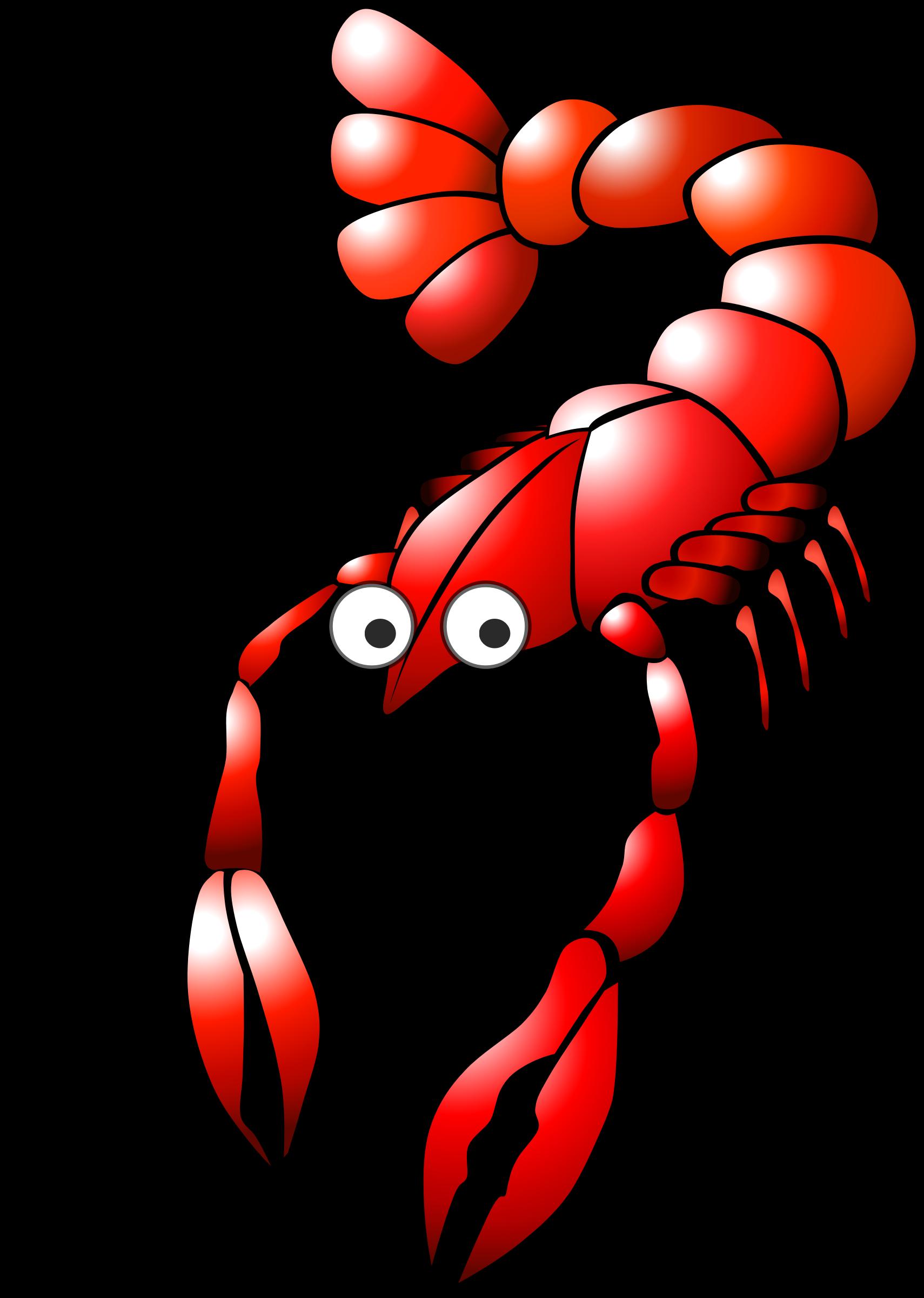 Cartoon crayfish icons png. Crabs clipart toon