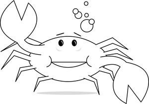 Of a crab clip. Crabs clipart top view