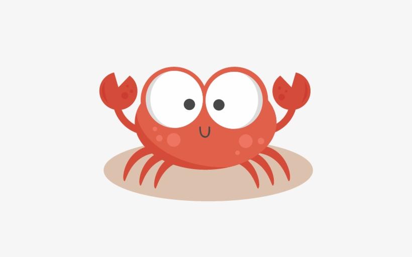 Crabs clipart transparent background. Crab beach