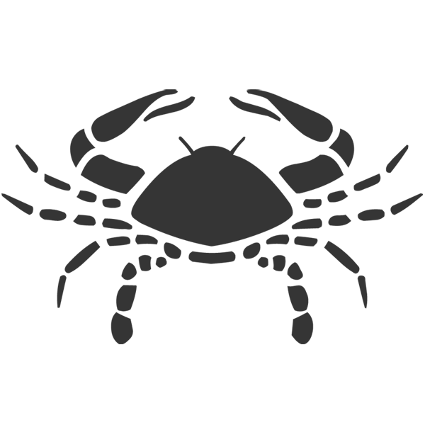 crab clipart two animal