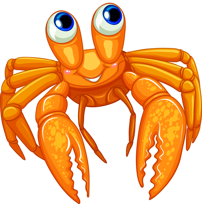 png ocean clip. Fish clipart crab