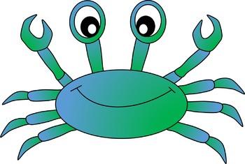 . Crab clipart yellow crab