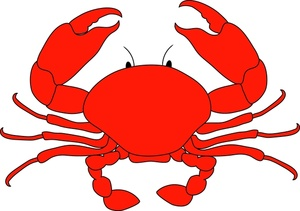 Crab clipart. Clip art cartoon panda
