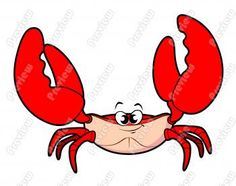 Funny pictures of crab. Crabs clipart