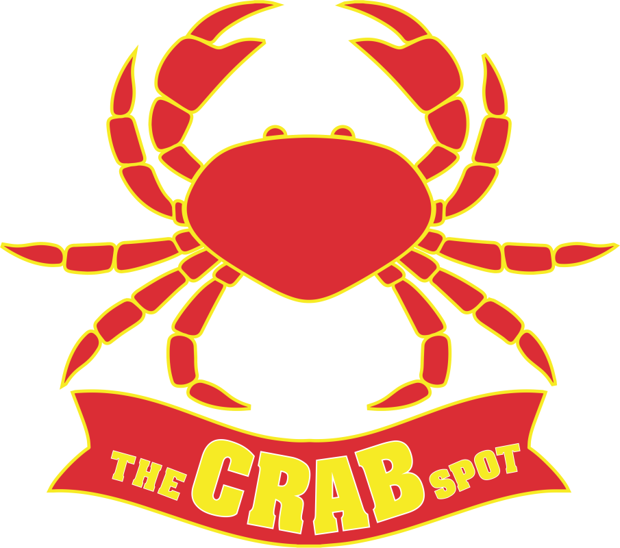 The crab spot delivery. Shell clipart clam chowder