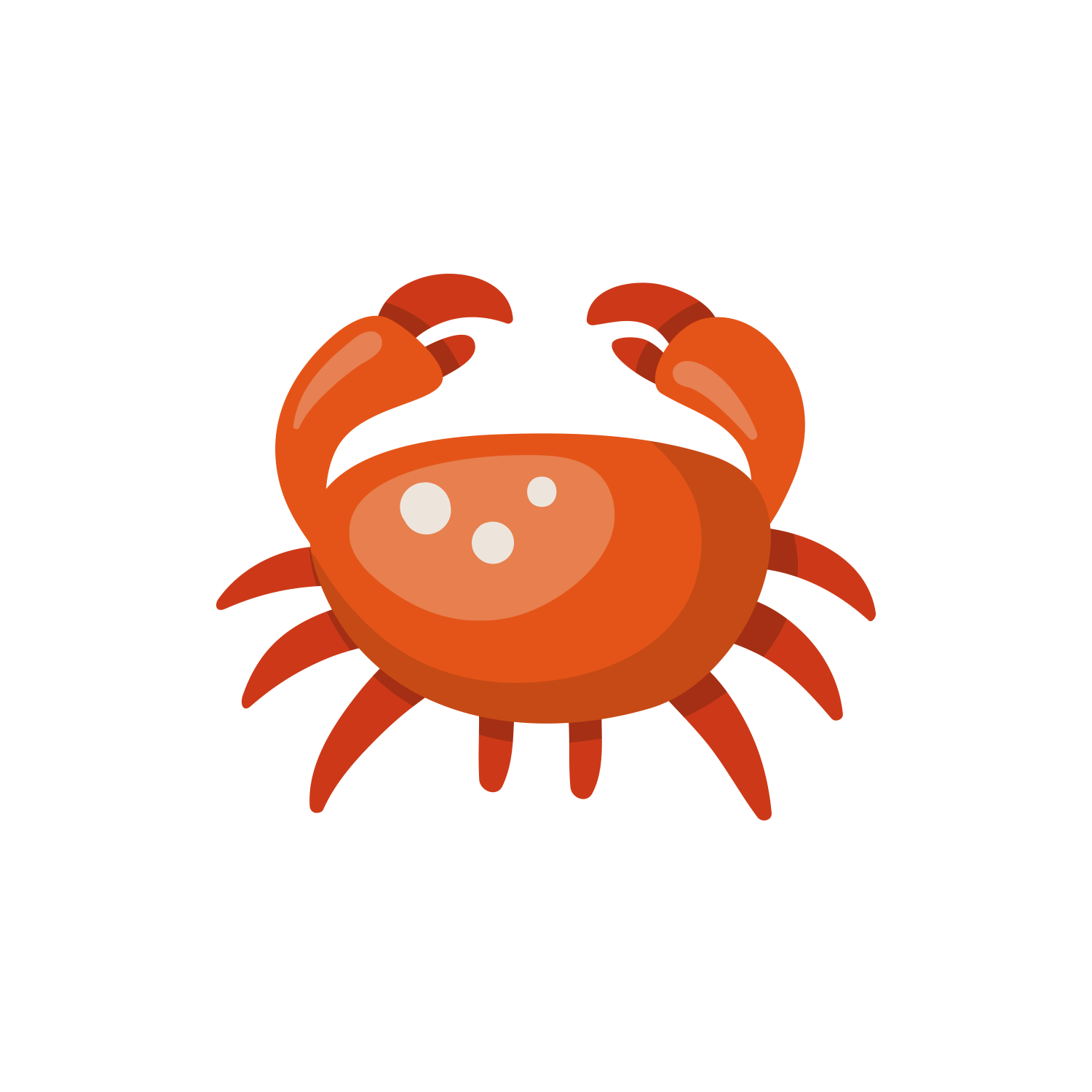 Seafood clipart king crab. Cartoon clip art red