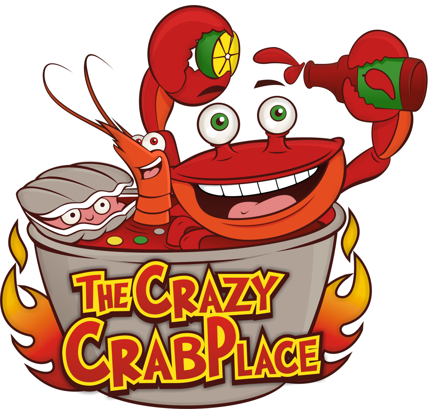 Crabs clipart crab feed. The crazy place