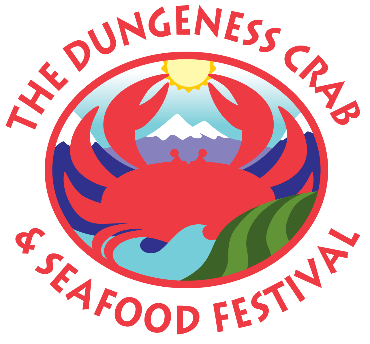 Seafood clipart king crab. Dungeness festival th annual