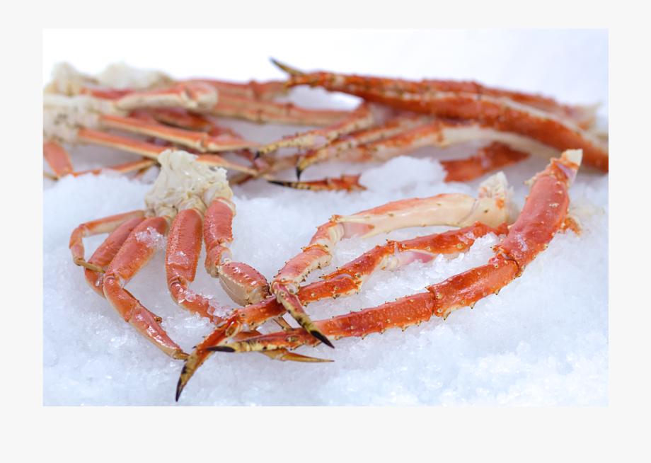Crabs clipart crab leg. King legs png transparent