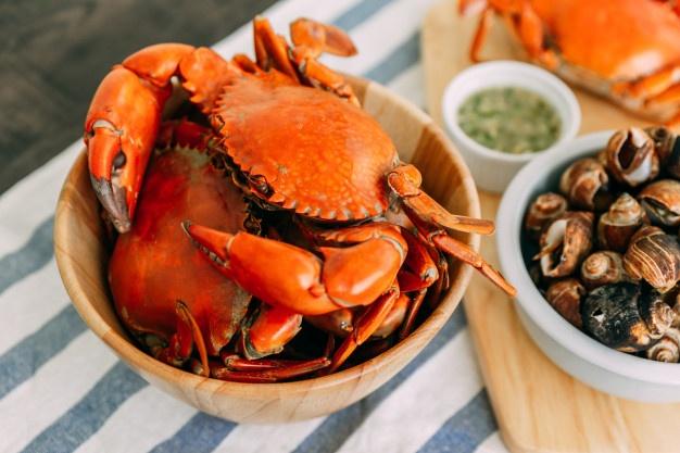 Crabs clipart crab stick. Vectors photos and psd