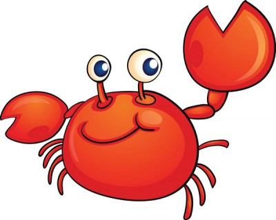 Crabs clipart crabbing. Gone look out tots