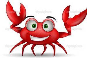 Cartoon crab bing images. Crabs clipart crabbing