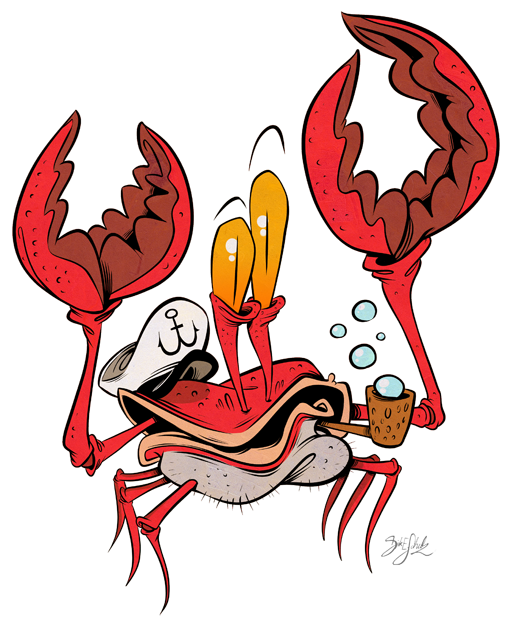 Captain by themrock on. Crabs clipart crabby