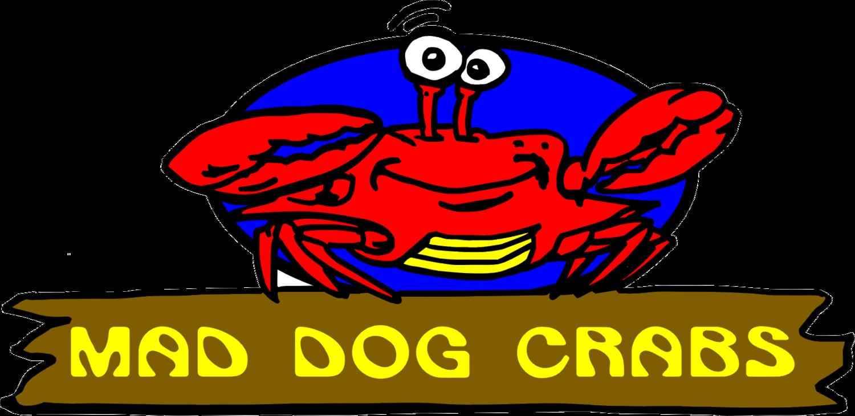 Mad dog crabs market. Seafood clipart green crab