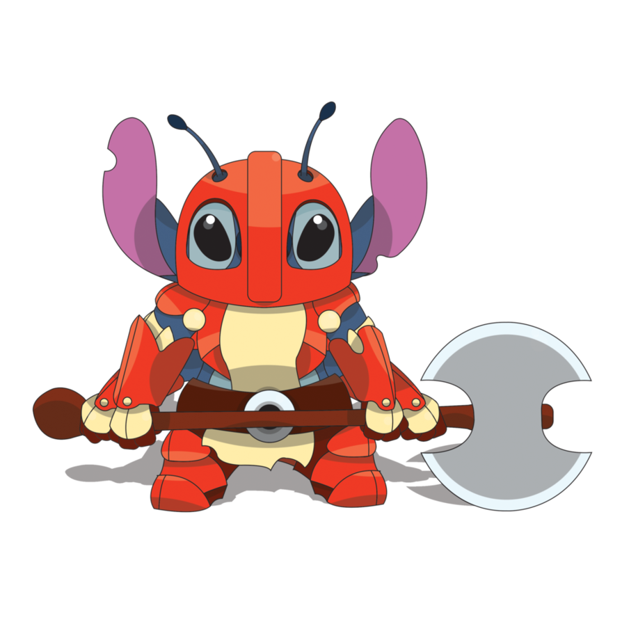 Armor png by findingohana. Stitch clipart scrump