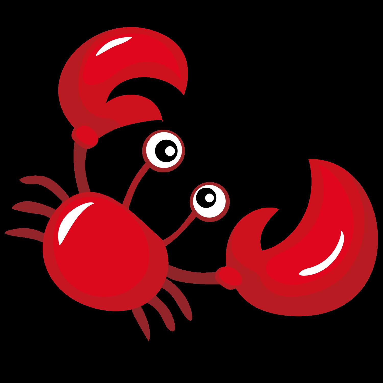 Lobster clipart crab. Cangrejo cartoon delicious transprent