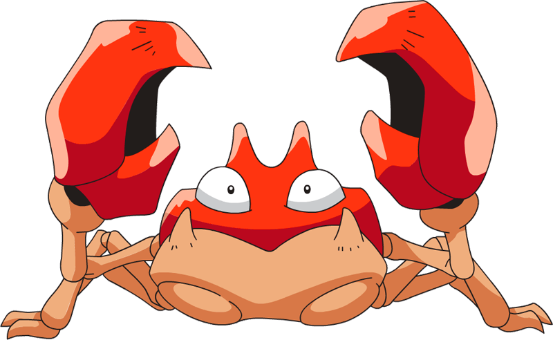 Shiny krabby pok dex. Crabs clipart maryland live