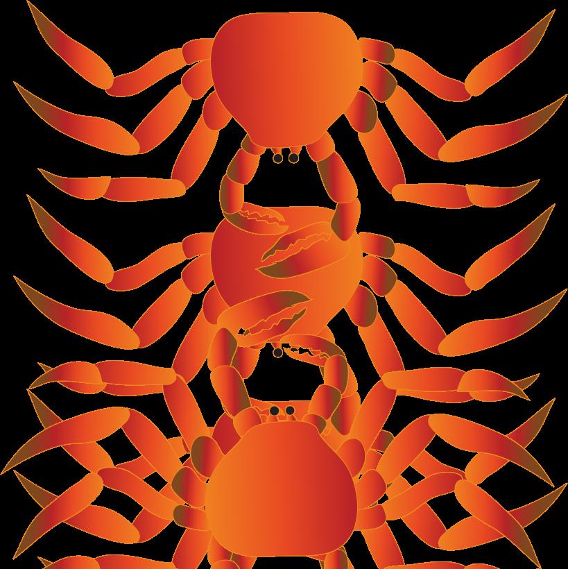F leftover logosleftover logos. Crabs clipart orange crab