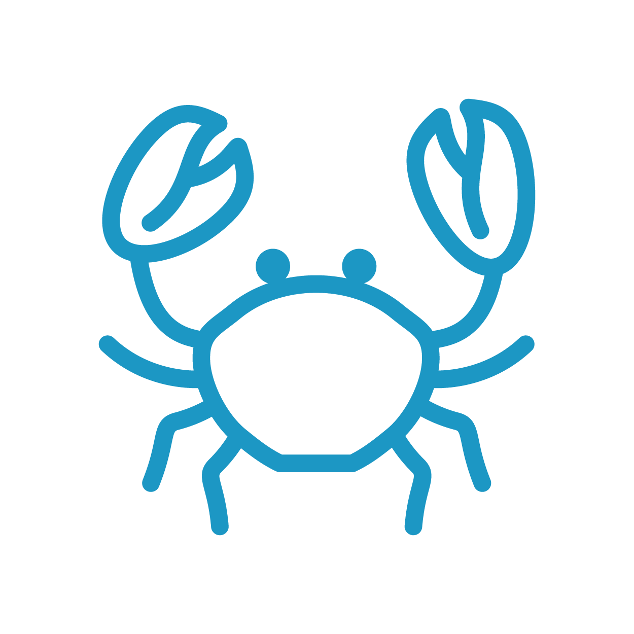 Home international oyster and. Seafood clipart green crab