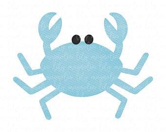 Crabs clipart preppy. Crab clip art etsy