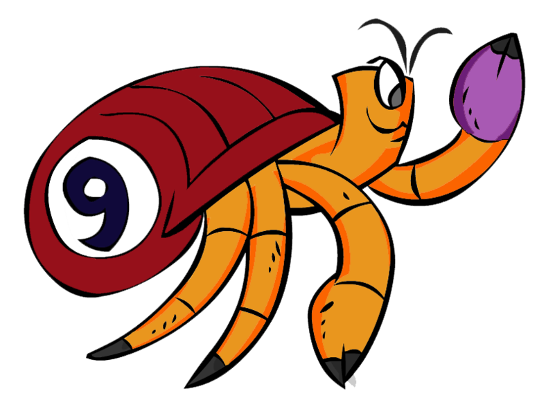 Race clipart on your mark. Crab events by mister