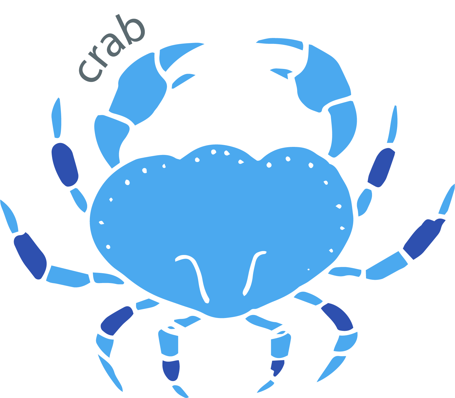 Seafood crab meat
